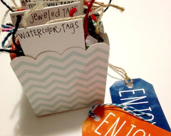 Gift Tags: Pack of 40 Assorted