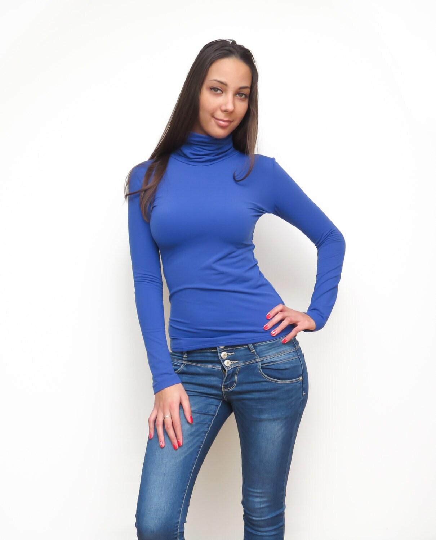 Blue Blouse Womens