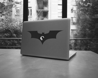 """Batman macbook pro and air stickers decal for 15,17"""""""