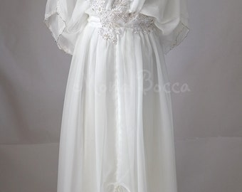 Edwardian ivory wedding dress Downton Abbey inspired handmade in England Lady Mary styled Made to order Express delivery