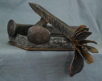 Small Metal Shelf Sculpture Made By Jacob Novinger