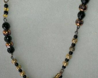 Antique Brooch Necklace