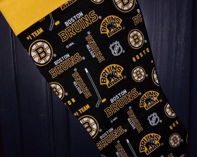 Bruins Christmas Stocking