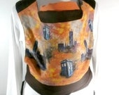 READY to SHIP Doctor Who TARDIS, Monet Parliament,Brown Mei tai baby carrier sling,Baby Carrier,Baby Wrap, Black Friday, Cyber MOnday