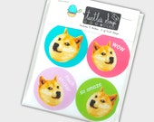 Funny Doge Meme Sticker Set / Doge Stickers / Meme Stickers / Funny Sticker Set / Doge Meme / Funny Gift