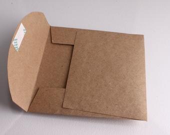 CD ROM presentation envelope recycled paper set of 10 handmade