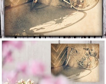 Home Decor, Bicycle Art, Bycicle Print, Wall Art Photography, Wall Decor, Pastel, Romantic Living Room Decor, Bedroom Wall Art, Fine Art