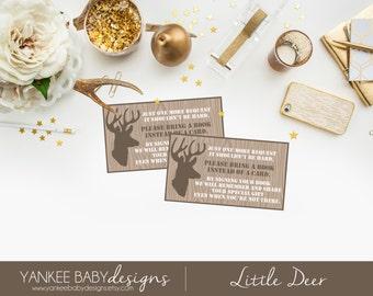 PRINTABLE Little Deer - Book Poem Card
