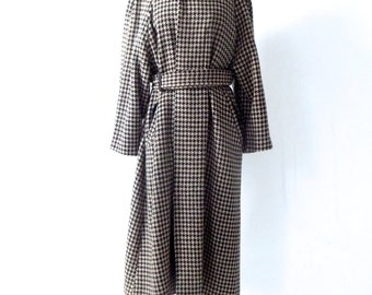 MATSUDA - Wool Houndstooth Overcoat