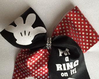 Ring Cheer Bow