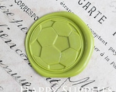 1pcs Football Gold Plated Wax Seal Stamp (WS294)