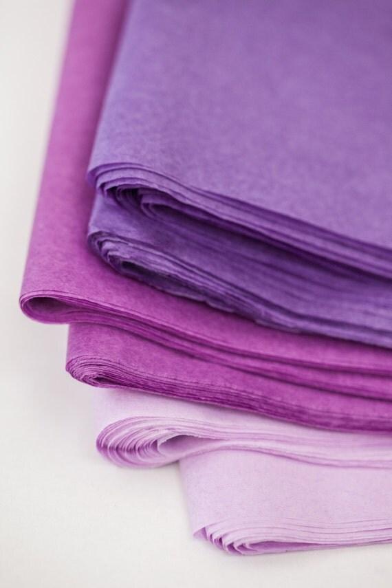 Purple Tissue Paper Bulk Tissue Paper 24 Sheets Dark | Etsy