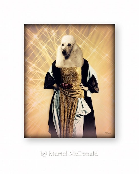 28+ [ Poodle Wall Art ]   Poodle Dog Art Print Framed,Vintage ...