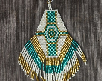 Beaded necklace - Gypsy necklace