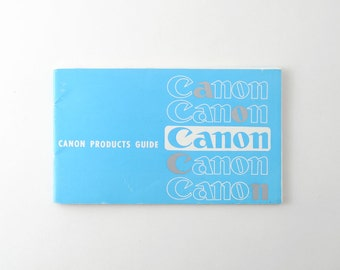 Vintage Canon Products Guide 1970s - Dial 35, Canon 7 Etc.