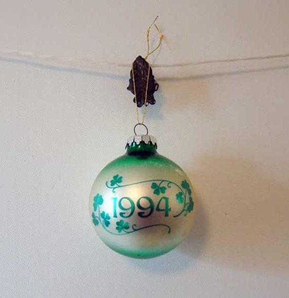 Irish christmas ornament by