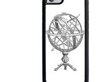 iPhone 4 4s 5 5s 5c 6 6s 6+ 6s+ SE iPod 4 5 6 Galaxy s3 s4 s5 s6 Edge Note 3 4 5 Phone Case, Vintage Armillary Sphere Design, Steampunk