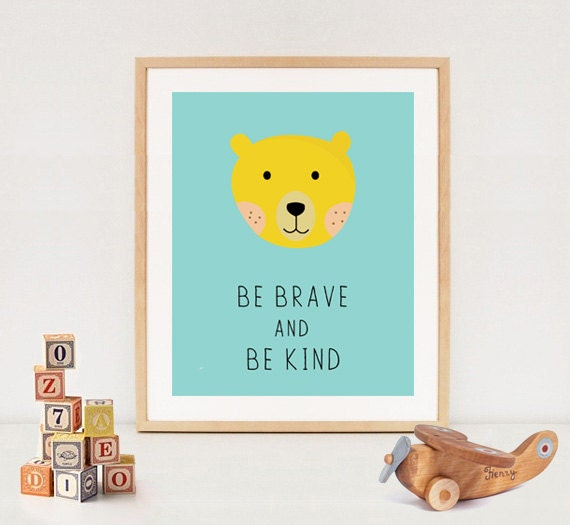 Wall Decor Nursery Nz : Bear wall art baby nursery shower gift diy