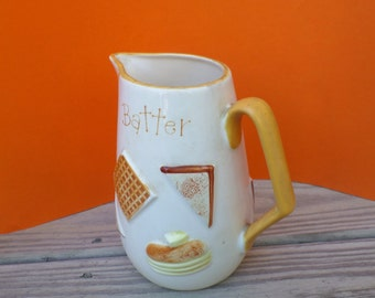 Vintage Breakfast Pitcher Batter Napcoware