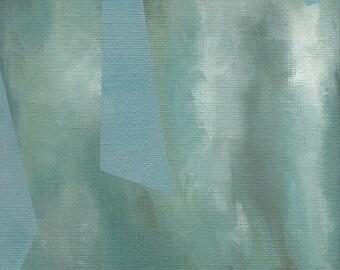 Geometric Sky Study I Original Painting