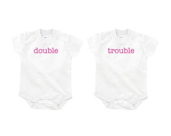 """Twin Onesies 