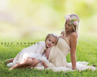 The Nikki Flower Halo ~ Maternity Collection