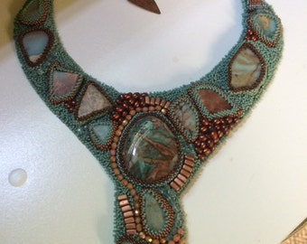Bead Embroidery Collar - SPECIAL ORDER, RESERVED