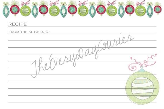 Wedding Gift Recipe Cards : Recipe Cards Set, Stocking Stuffer, Wedding Gift, Cookie Swap, Recipe ...