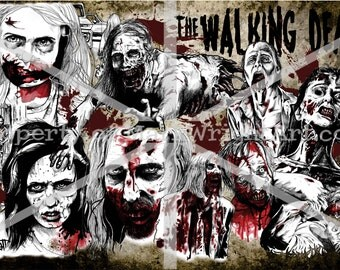"""Walking Dead """"The Infected"""" 20' x 30' zombie Poster"""