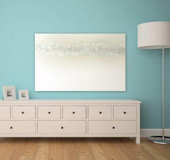 Wall art xl huge Ellegant Modern, Textured Large minimal abstract painting, decor metalic silver, metalic gold, white, gray