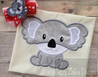 Koala 53 Applique embroidery Design - bear Appliqué Design - koala Applique Design - koala bear Appliqué Design - zoo Applique Design