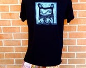"Men's X-LARGE T-shirt - Black ""Unclassifiable"" - Todd Marrone"