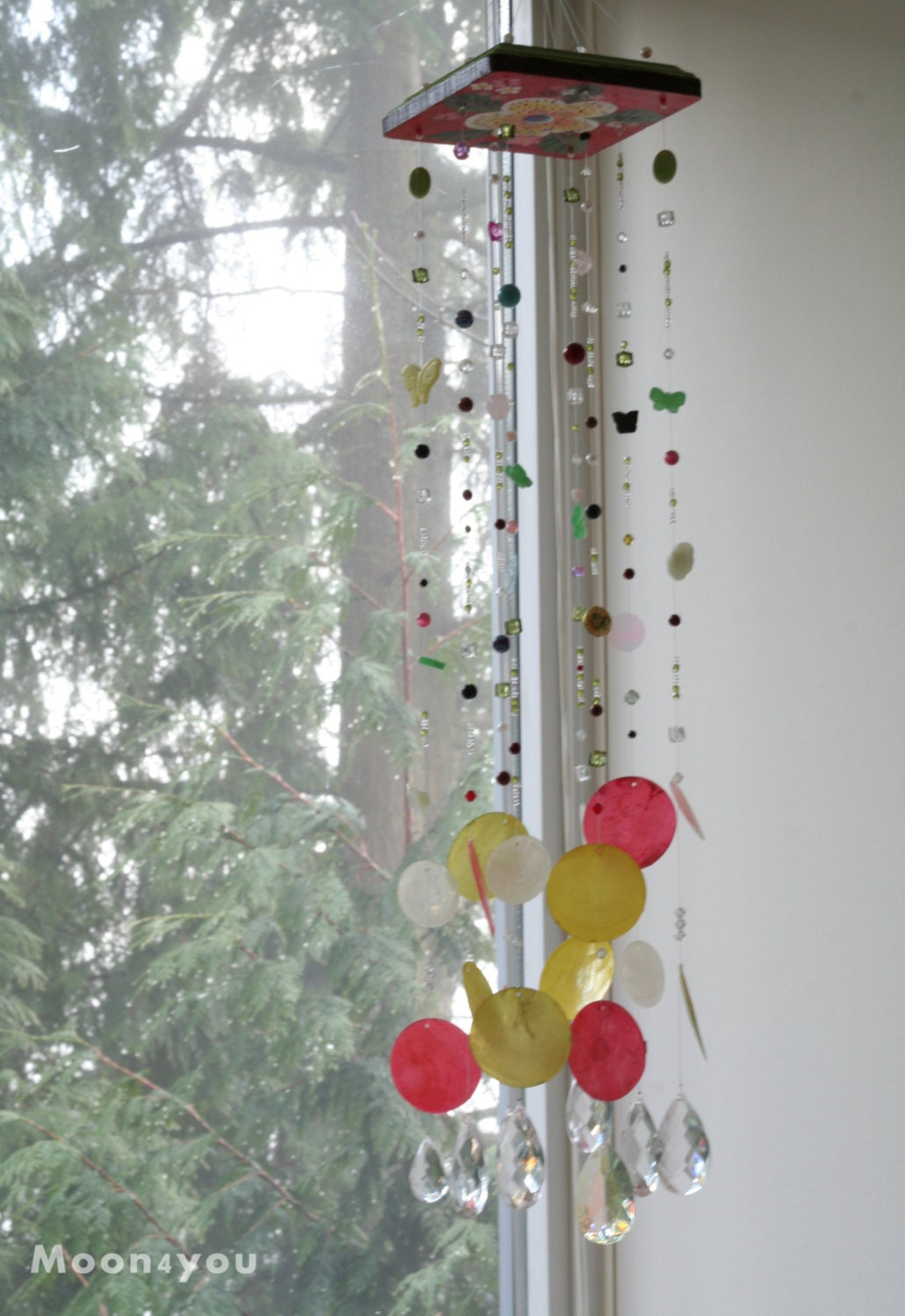 Wall Decor With Crystals : Usa free shipping wall decor crystal hanging by