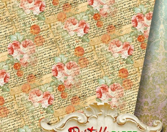 MEMOIRS - Printable wrapping paper for Scrapbooking, Creat - Download and Print