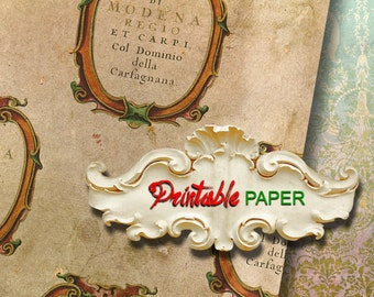 MODENA  - Printable wrapping paper for Scrapbooking, Creat - Download and Print