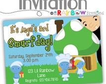 008: DIY - Mushroom Land Party Invitation Or Thank You Card