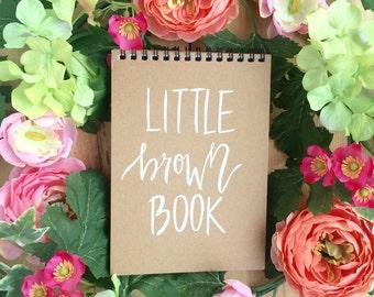 Little Brown Book Notepad