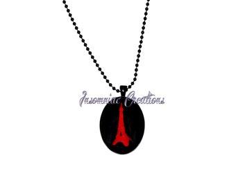 I Love Paris Cameo Necklace