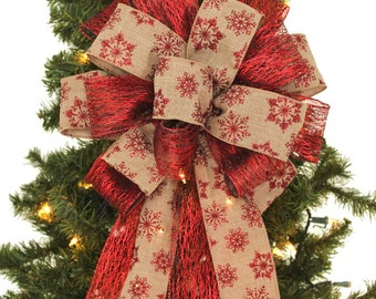 Bow On Christmas Tree