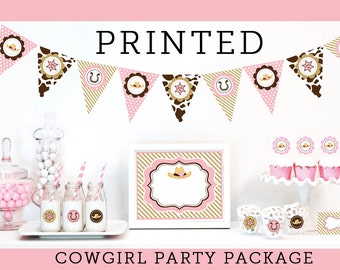Cowgirl Birthday Party Decorations - Cowgirl Birthday Decorations - Cowgirl Party Decoration Cowgirl Birthday Package Ideas KIT (EB4000CWG)
