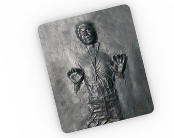 "Star Wars Inspired ""Han Solo In Carbonite"" Mousemat / Mousepad"