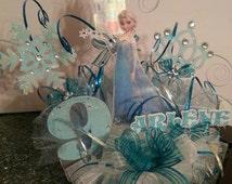 Disney Frozen Elsa Cake Topper Personalized