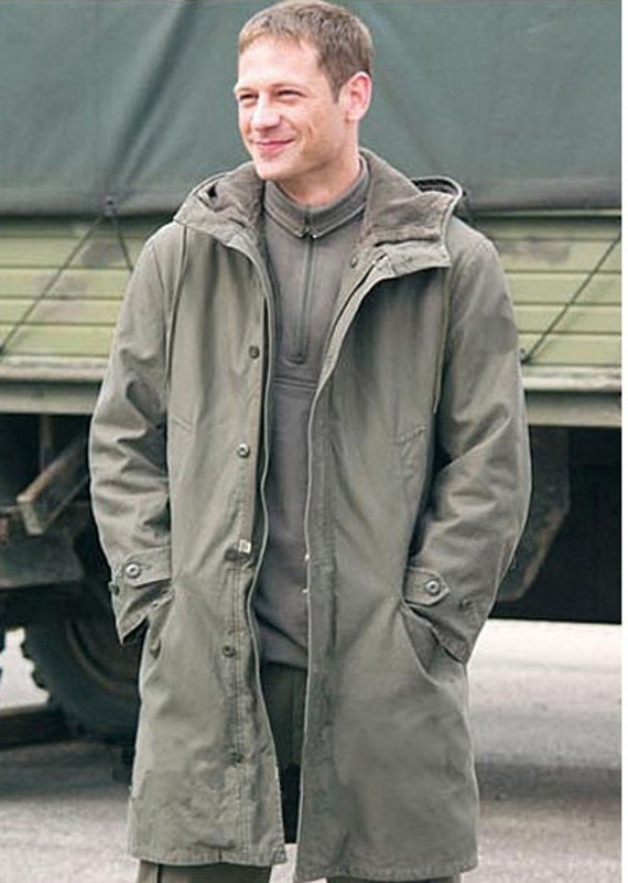 Authentic German Army olive Parka military coat jacket