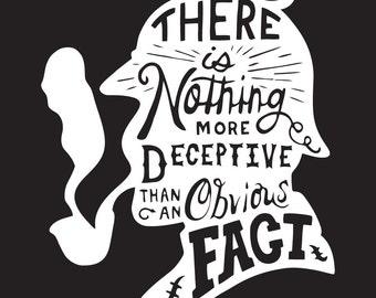 Sherlock Holmes Decal Sticker