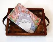 Flower Crown Totoro Zipper Bag