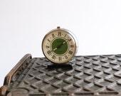 Vintage Soviet Mechanical Alarm Clock Slava