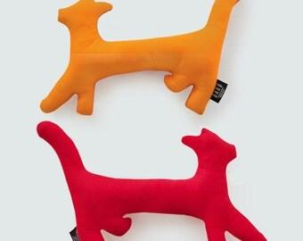 Cat. collection Zanimo. Plush red / Orange