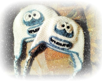 All Sizes Abominable Snow Monster Hat/Bumble Yeti Hat/Geekery/Cosplay Con Hat/Baby Yeti/Rudolph Bumble/Character Hat