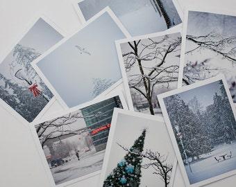 8 Winter Wonderland Christmas Cards
