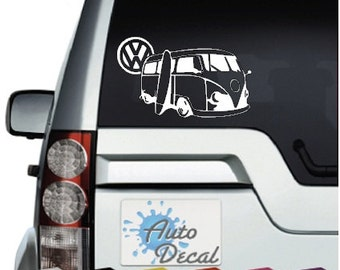 Vinyl Stickers Vw Etsy